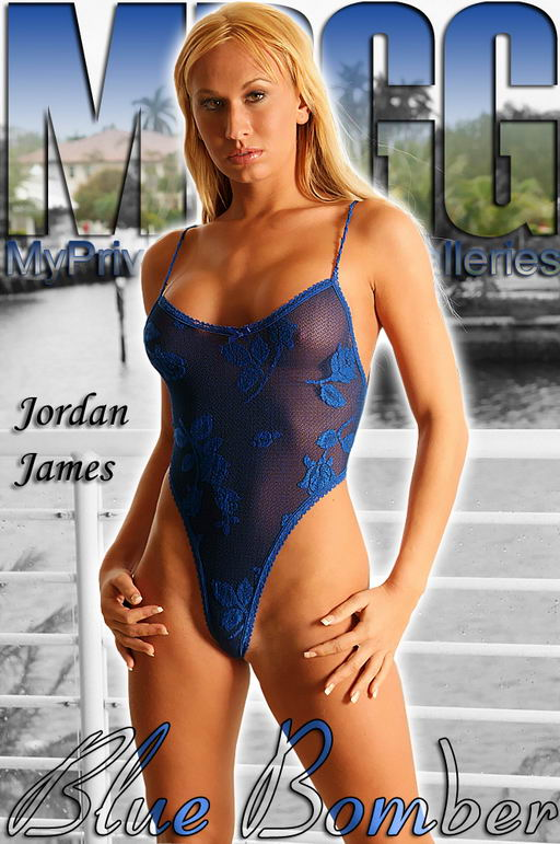 Jordan James - `Blue Bomber` - for MYPRIVATEGLAMOUR