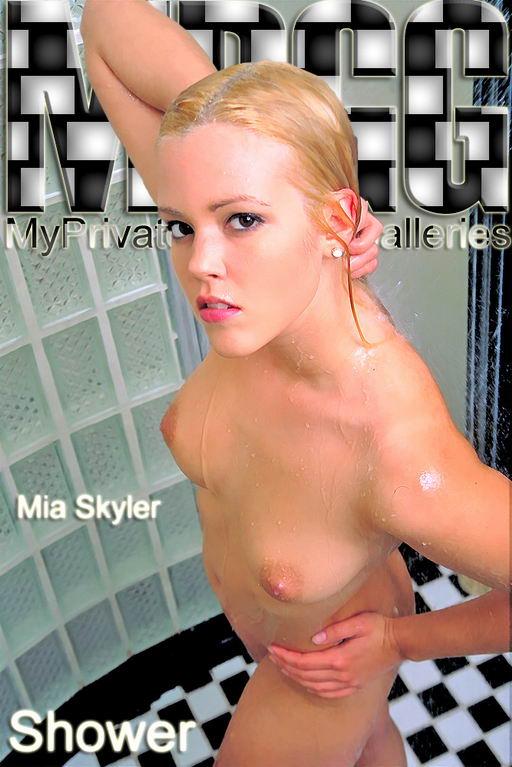 Mia Skyler - `Shower` - for MYPRIVATEGLAMOUR