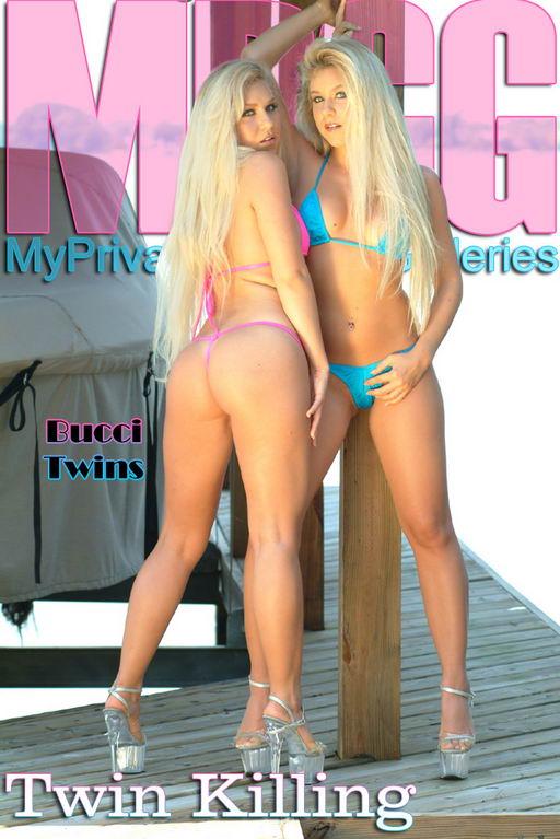Jen Bucci + Shawna Bucci - `Twin Killing` - for MYPRIVATEGLAMOUR