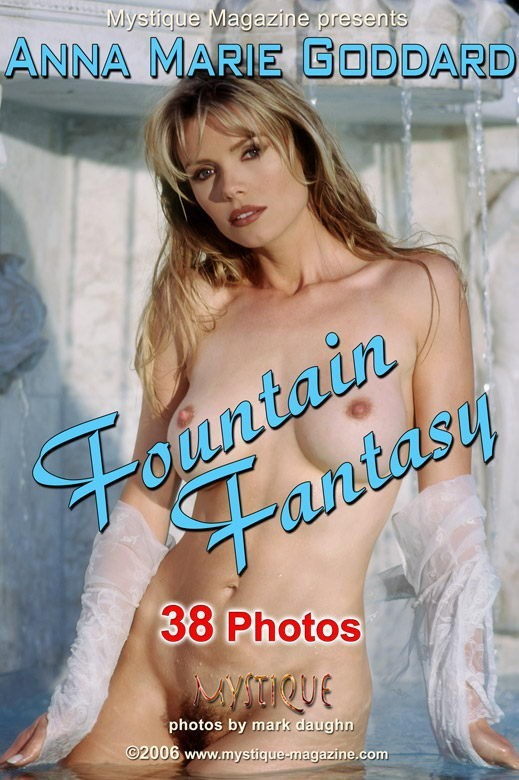 Anna Marie Goddard - `Fountain Fantasy` - by Mark Daughn for MYSTIQUE-MAG