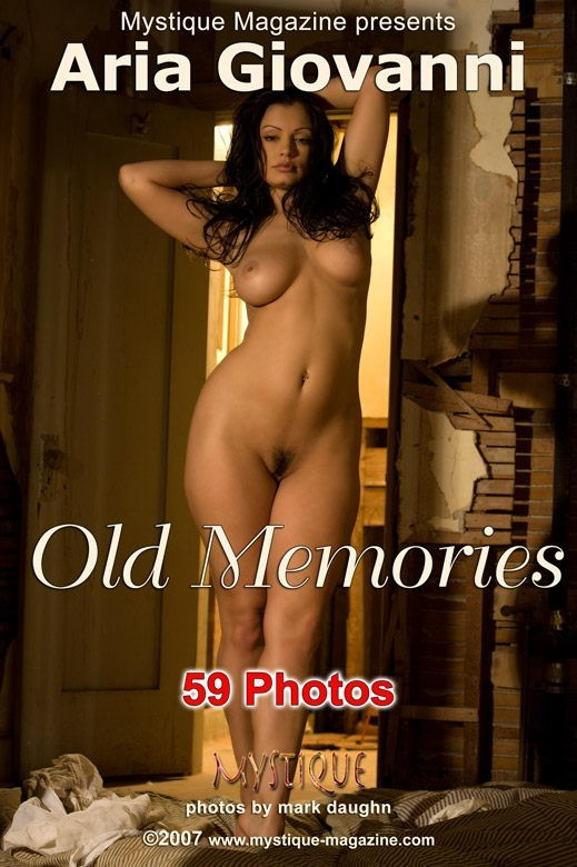Aria Giovanni - `Old Memories` - by Mark Daughn for MYSTIQUE-MAG