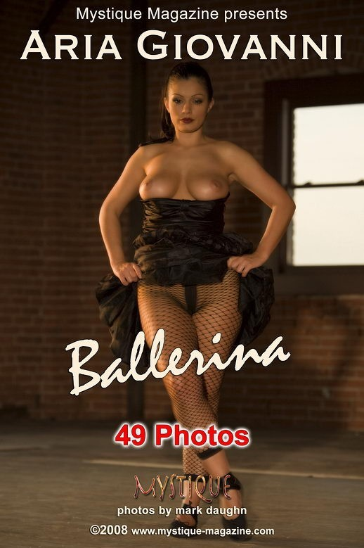 Aria Giovanni - `Ballerina` - by Mark Daughn for MYSTIQUE-MAG