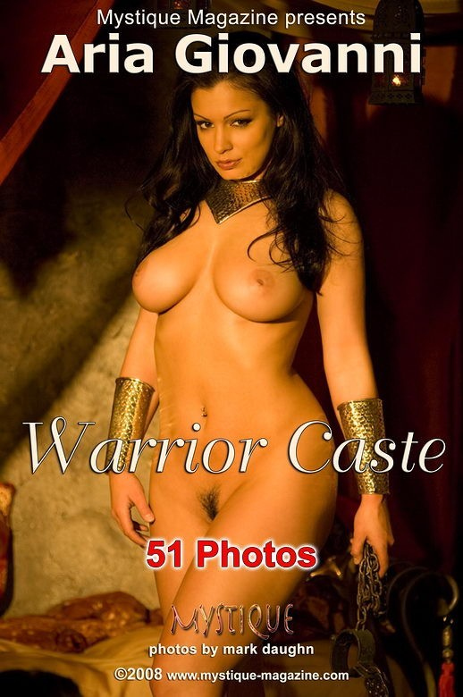 Aria Giovanni in Warrior Caste gallery from MYSTIQUE-MAG by Mark Daughn