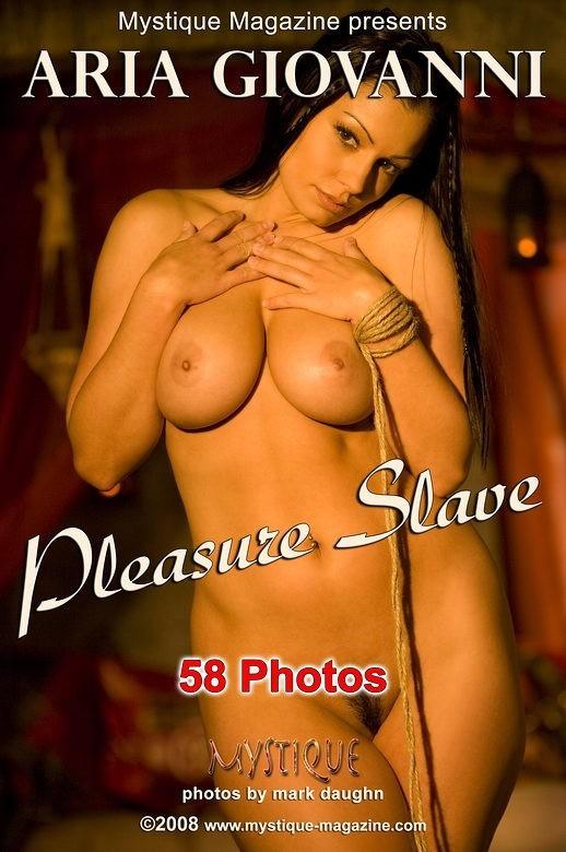 Aria Giovanni - `Pleasure Slave` - by Mark Daughn for MYSTIQUE-MAG