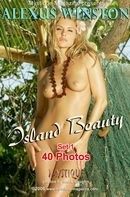 Alexus Winston in Island Beauty Set 1 gallery from MYSTIQUE-MAG by Mark Daughn