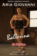 Aria Giovanni in Ballerina gallery from MYSTIQUE-MAG by Mark Daughn