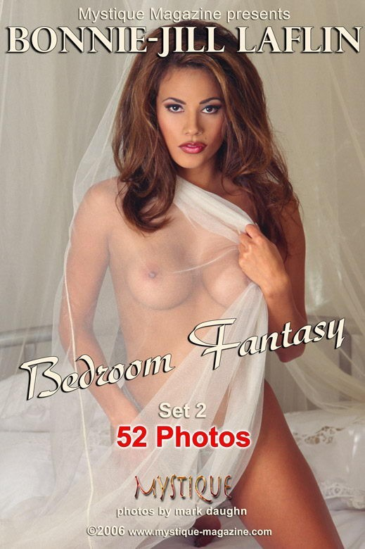 Bonnie-Jill Laflin - `Bedroom Fantasy Set2` - by Mark Daughn for MYSTIQUE-MAG