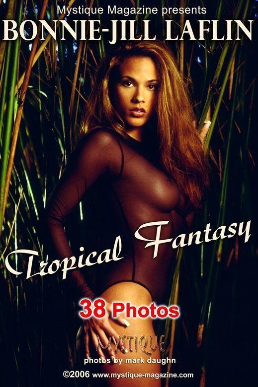 Bonnie-Jill Laflin - `Tropical Fantasy` - by Mark Daughn for MYSTIQUE-MAG