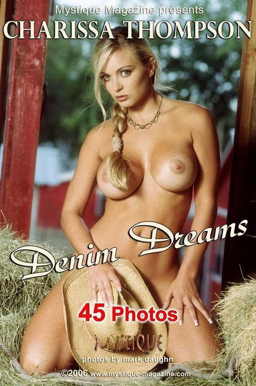 Charissa Thompson - `Denim Dreams` - by Mark Daughn for MYSTIQUE-MAG