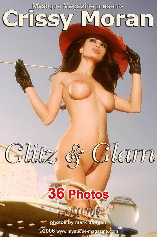 Crissy Moran - `Glitz & Glam` - by Mark Daughn for MYSTIQUE-MAG