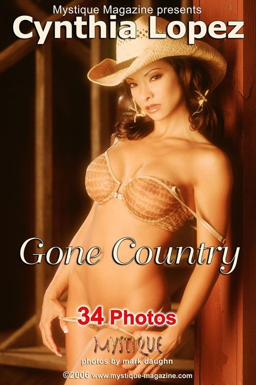 Cynthia Lopez - `Gone Country` - by Mark Daughn for MYSTIQUE-MAG
