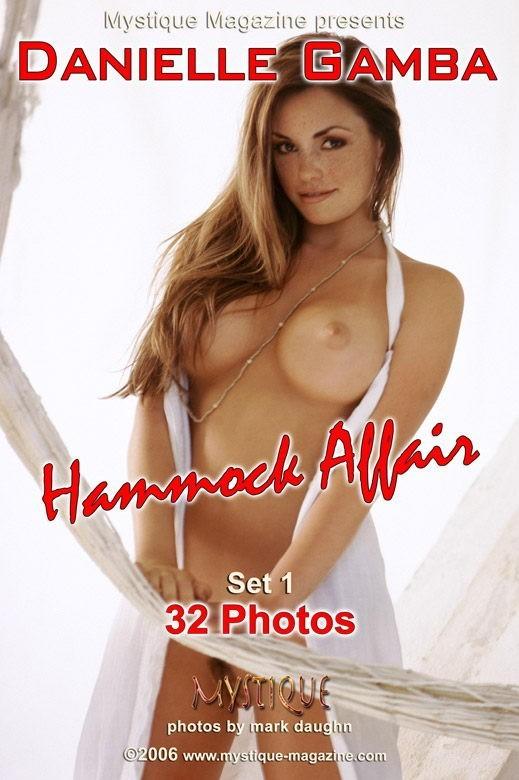 Danielle Gamba - `Hammock Affair Set1` - by Mark Daughn for MYSTIQUE-MAG