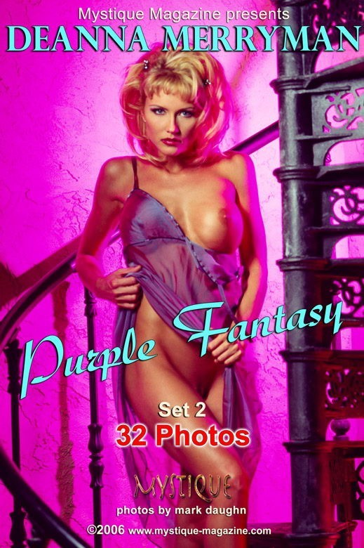 Deanna Merryman - `Purple Fantasy Set2` - by Mark Daughn for MYSTIQUE-MAG