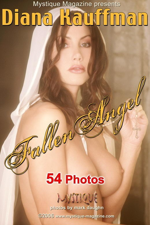 Diana Kauffman - `Fallen Angel` - by Mark Daughn for MYSTIQUE-MAG