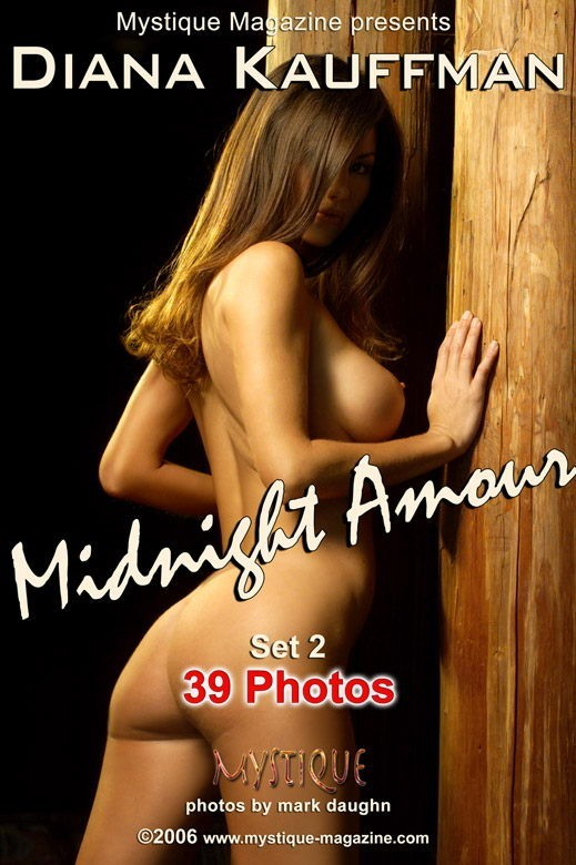 Diana Kauffman - `Midnight Amour Set2` - by Mark Daughn for MYSTIQUE-MAG