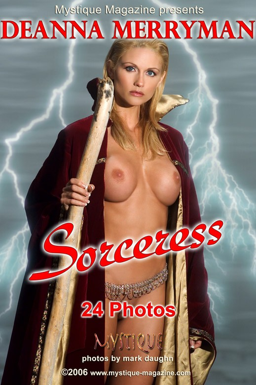 Deanna Merryman - `Sorceress` - by Mark Daughn for MYSTIQUE-MAG