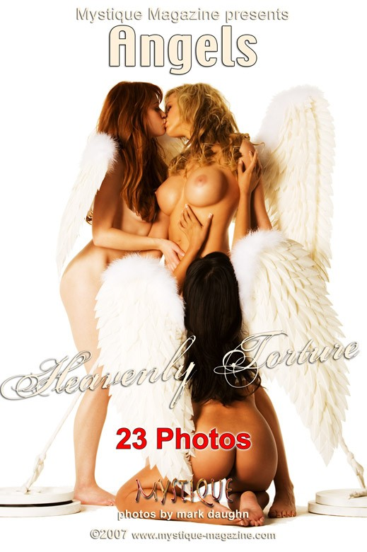 Divini Rae & Justine Joli & Luana Lani - `Angels - Heavenly Torture` - by Mark Daughn for MYSTIQUE-MAG
