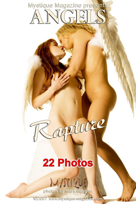Divini Rae & Justine Joli & Luana Lani - `Angels - Rapture` - by Mark Daughn for MYSTIQUE-MAG