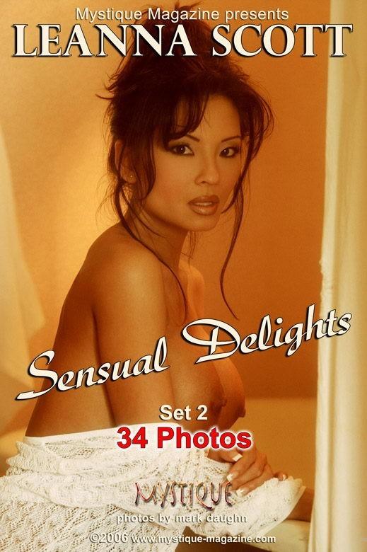 LeAnna Scott - `Sensual Delights Set2` - by Mark Daughn for MYSTIQUE-MAG