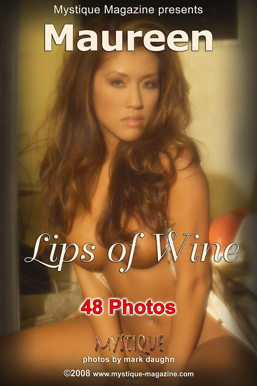 Maureen - `Lips of Wine` - by Mark Daughn for MYSTIQUE-MAG
