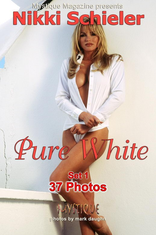 Nikki Schieler - `Pure White Set 1` - by Mark Daughn for MYSTIQUE-MAG