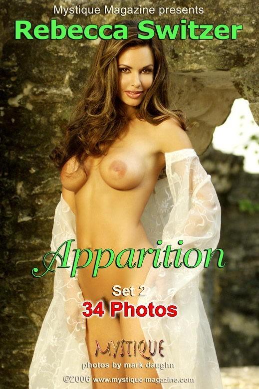 Rebecca Switzer - `Apparition Set2` - by Mark Daughn for MYSTIQUE-MAG