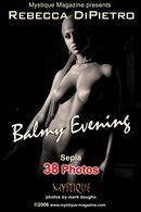 Balmy Evening Sepia