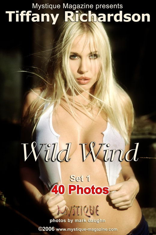 Tiffany Richardson - `Wild Wind Set1` - by Mark Daughn for MYSTIQUE-MAG