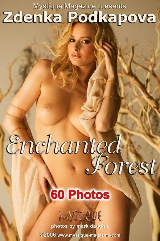 Zdenka Podkapova - `Enchanted Forest` - by Mark Daughn for MYSTIQUE-MAG