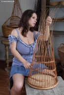 Stacy Vandenberg in Baskets gallery from NADINE-J