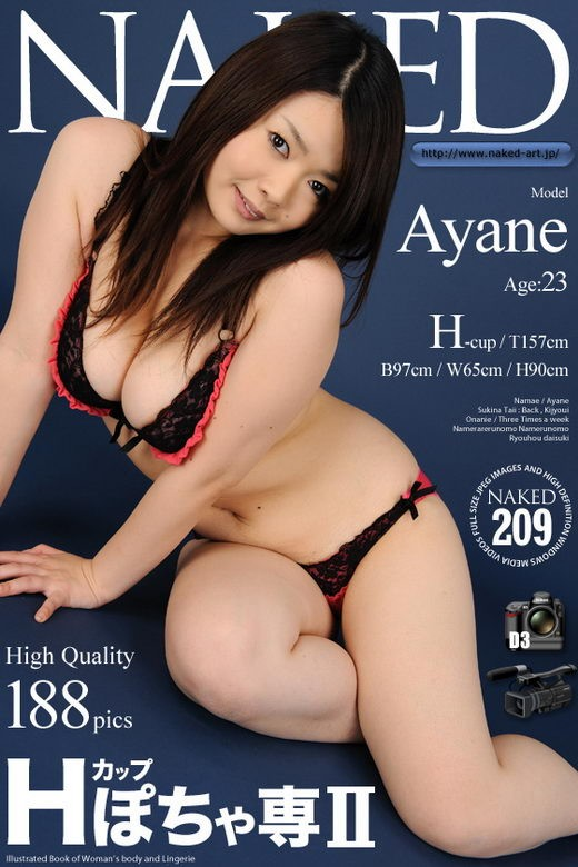 Ayane - `Issue 209` - for NAKED-ART