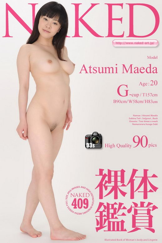 Atsumi Maeda - `Issue 409 [2011-08-05]` - for NAKED-ART
