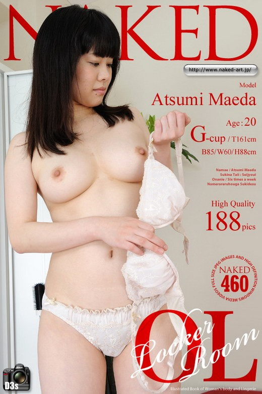 Atsumi Maeda - `Issue 460 [2012-01-06]` - for NAKED-ART