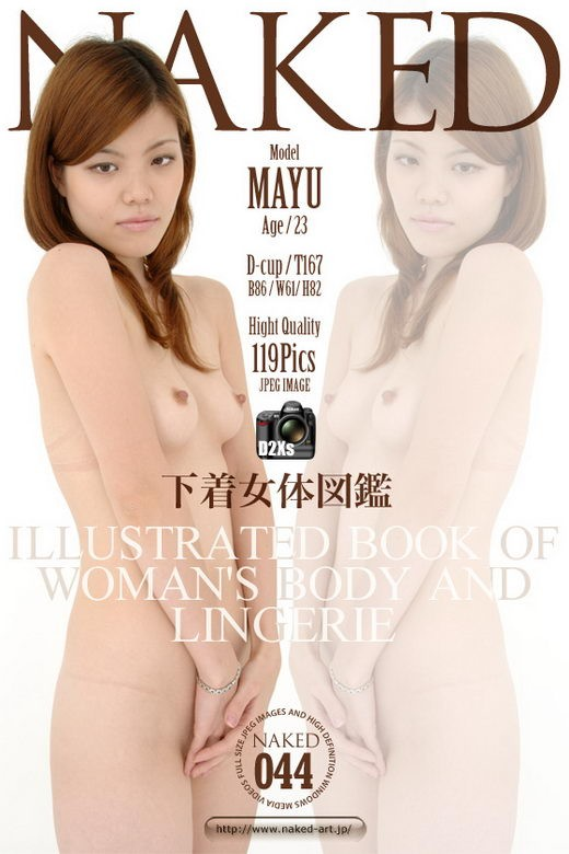 Mayu - `Issue 044` - for NAKED-ART