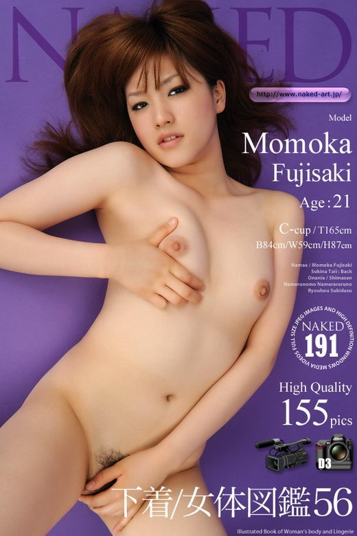 Momoka Fujisaki - `Issue 191` - for NAKED-ART