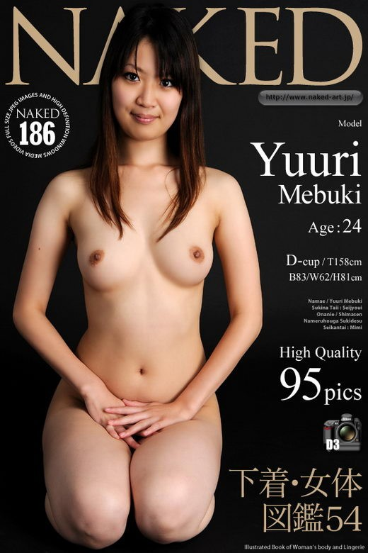 Yuuri Mebuki - `Issue 186` - for NAKED-ART