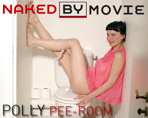 Polly - `Pee Room` - for NAKEDBY VIDEO