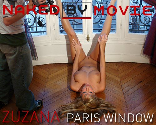 Zuzana - `Paris Window` - for NAKEDBY VIDEO