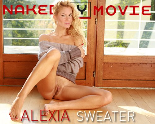 Alexia - `Sweater` - for NAKEDBY VIDEO