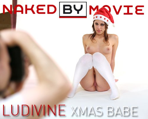 Ludivine - `Xmas Babe` - for NAKEDBY VIDEO
