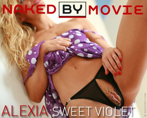 Alexia - `Sweet Violet` - for NAKEDBY VIDEO