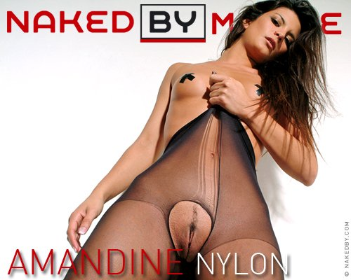 Amandine - `Nylon` - for NAKEDBY VIDEO