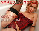 Kristyna in Bubbly Girl video from NAKEDBY VIDEO