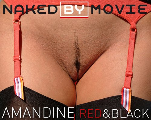 Amandine - `Red & Black` - for NAKEDBY VIDEO