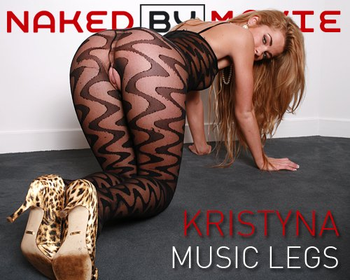 Kristyna - `Music Legs` - for NAKEDBY VIDEO