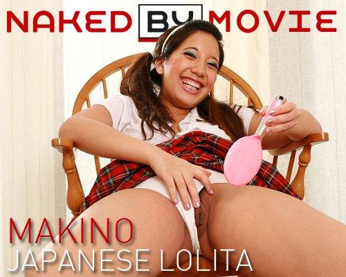 Makino - `Japanese Lolita` - for NAKEDBY VIDEO