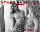 Kristyna in Mirror video from NAKEDBY VIDEO