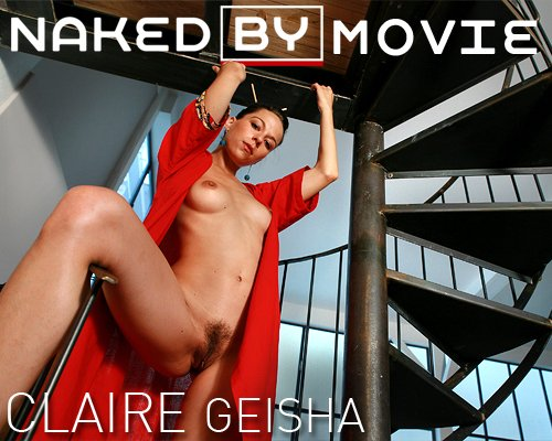 Claire - `Geisha` - for NAKEDBY VIDEO