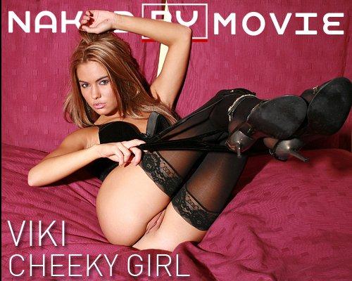 Viki - `Cheeky Girl` - for NAKEDBY VIDEO