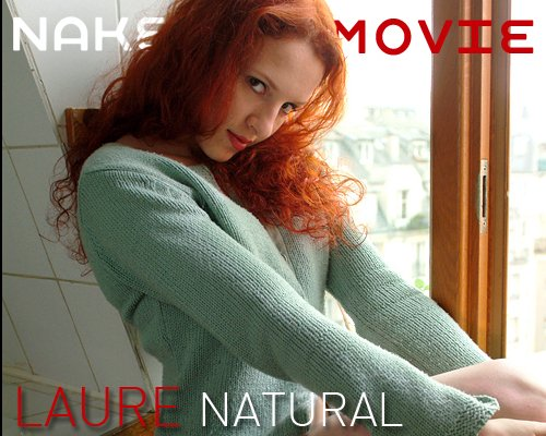 Laure - `Natural` - for NAKEDBY VIDEO